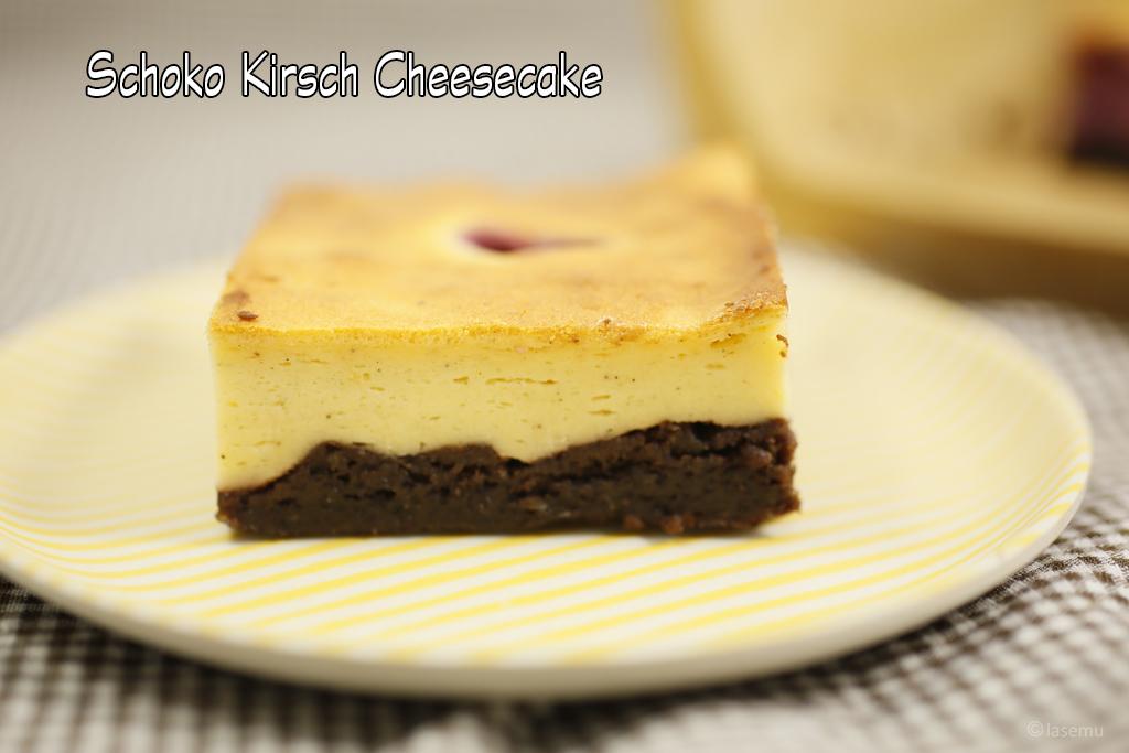 schoko kirsch cheesecake lauras genussreich. Black Bedroom Furniture Sets. Home Design Ideas